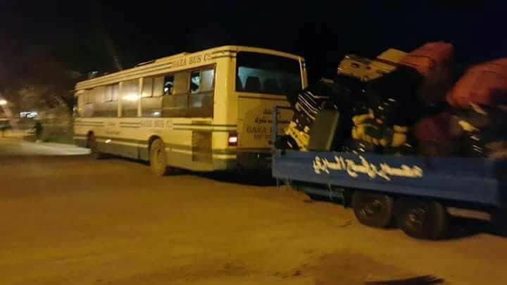 عودة العالقين في مصر إلى قطاع غزة عبر معبر رفح