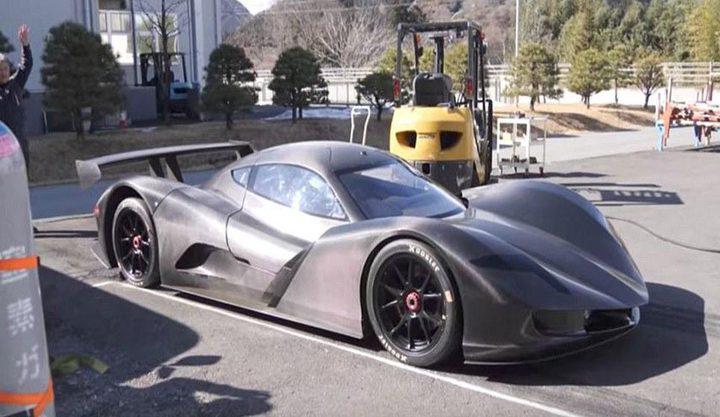 سيارة خارقة تسجل سرعة 100 كيلومتر في أقل من ثانيتين!