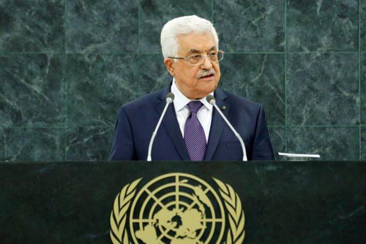 فتح: خطاب الرئيس مرافعة تاريخية عن الحق الفلسطيني