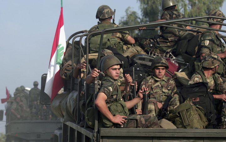 الجيش اللبناني يتعهد بمواجهة أي عدوان اسرائيلي