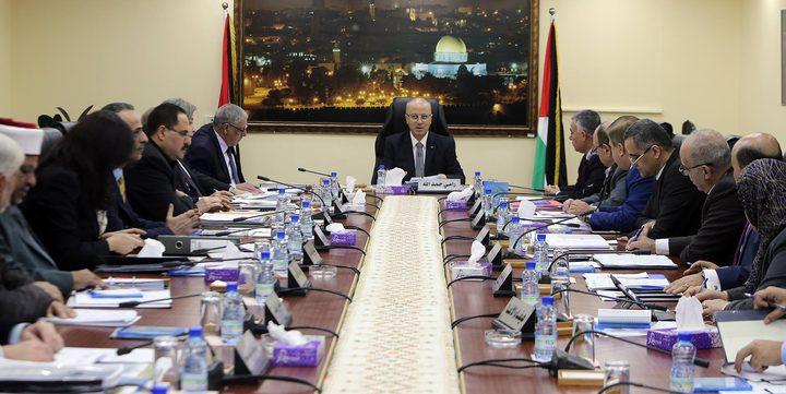 مجلس الوزراء يدين التصعيد على غزة والقرصنة الإسرائيلية