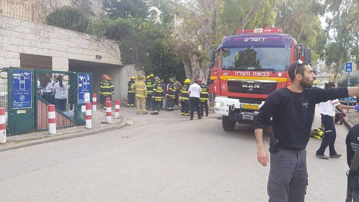 انفجار في موقف للسيارات في القدس