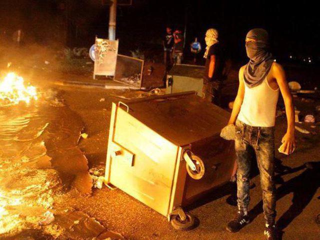 مواجهات مع قوات الاحتلال في بلدة الخضر جنوب بيت لحم