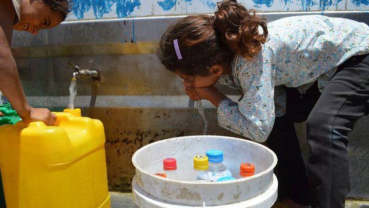 معهد المياه والبيئة في جامعة الأزهر: المياه الجوفية في قطاع غزة غير صالحة للشرب