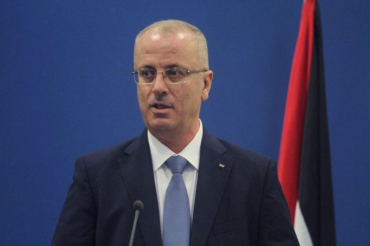 الحمد الله: طلبنا فقط أن يعمل الوزير في غزة كما يعمل في الضفة.. ورواتب موظفي غزة فور عملية التمكين الشامل