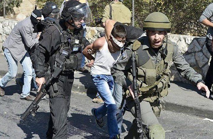 الاحتلال يعتقل 5 أطفال قبل انسحابه من مخيم شعفاط