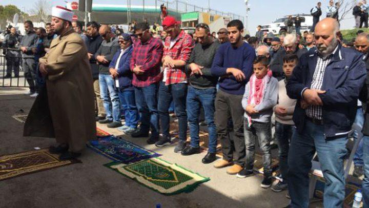 دعوة لإقامه صلاة الجمعة على مدخل العيسوية رفضاً لإجراءات الاحتلال