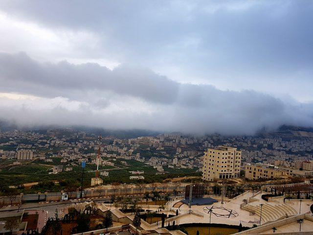 حالة الطقس أمطار متوقعة على مختلف المناطق