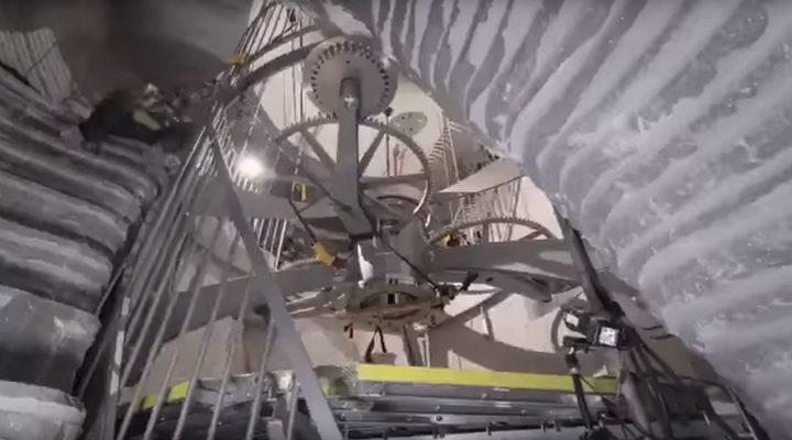 ساعة عملاقة تعمل 10000 سنة!