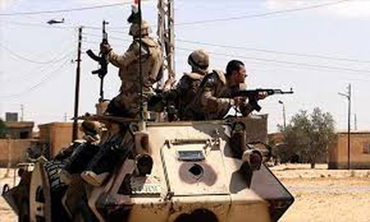 الجيش المصري يواصل عمليته في سيناء