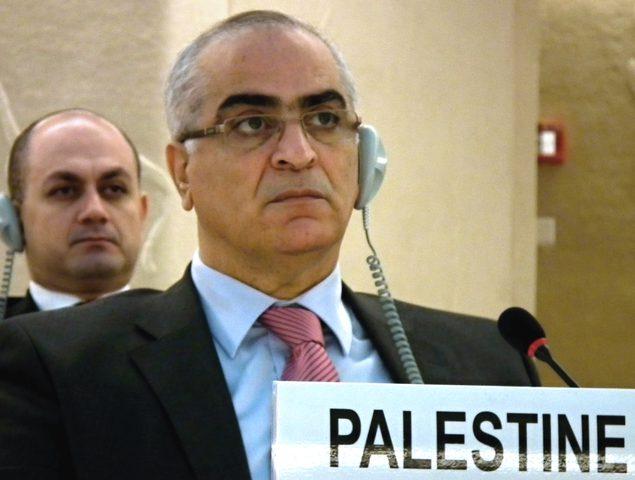 السفير خريشي يطلع بعثات الدول في جنيف على تطورات الأوضاع في فلسطين