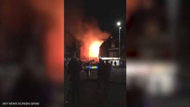 انفجار ضخم في متجر بمدينة ليستر البريطانية