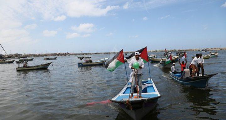 نقابة الصيادين في غزة تعلق علمها ليومين