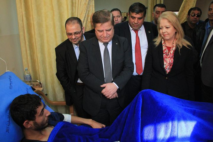 وزير الصحة ومستشارة رئيس الوزراء يطلعان على أوضاع القطاع الصحي في طوباس