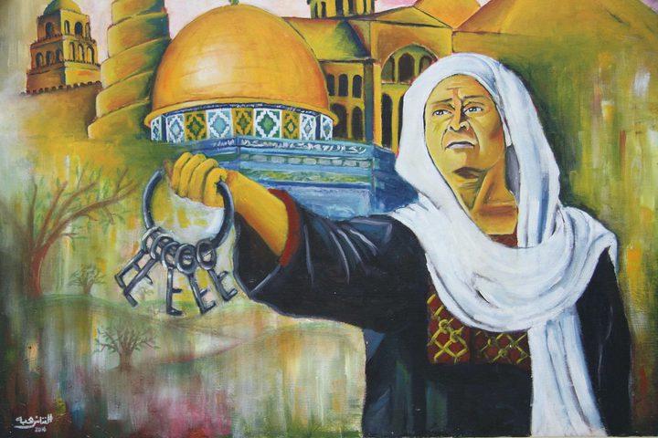 معرض فني في جامعة القدس يجسد الواقع الفلسطيني