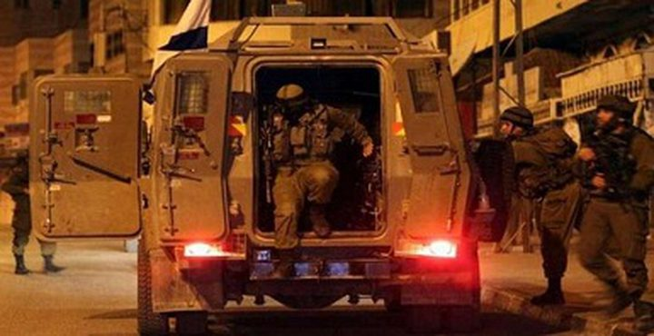 قوات الاحتلال تقتحم جنوب الخليل