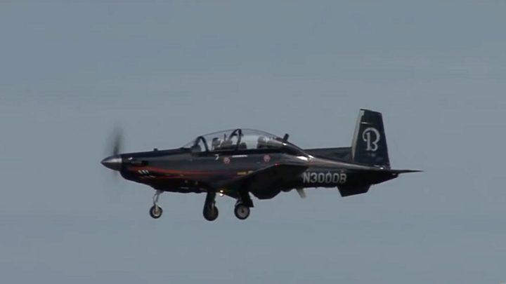 القوات البريطانية تتسلم طائرات تدريب أمريكية