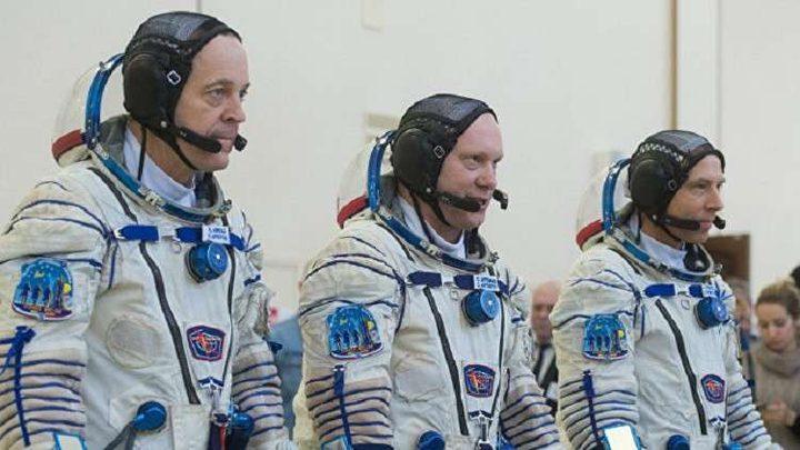 مونديال على محطة الفضاء الدولية