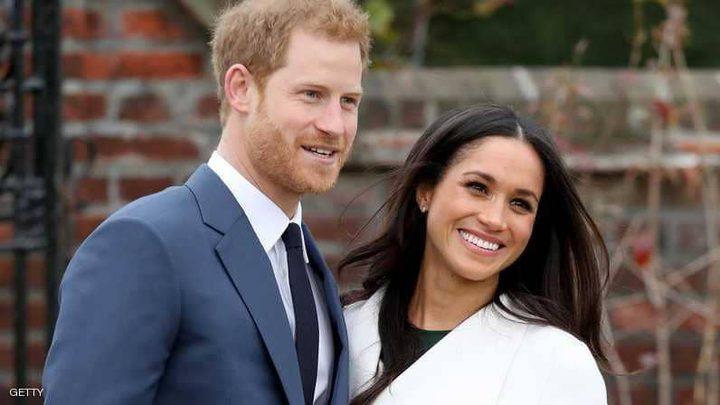 """2000 """"سعيد حظ"""" بحفل زفاف هاري وميغان"""