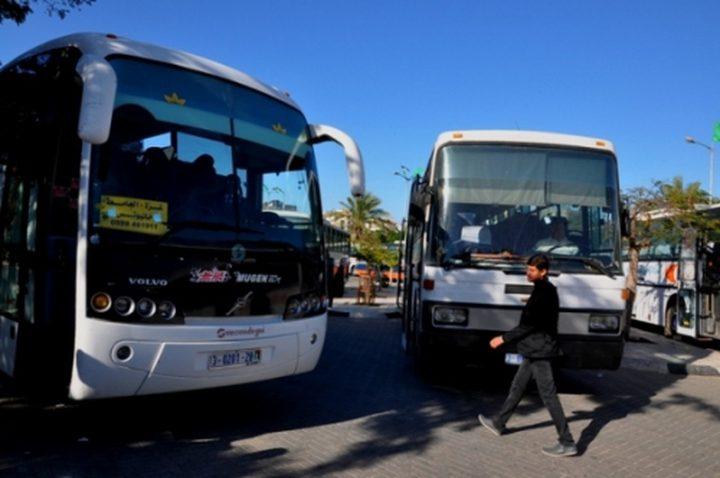 مالية غزة تُقرر تخفيض ضريبتي المضافة والدخل عن الباصات العمومي
