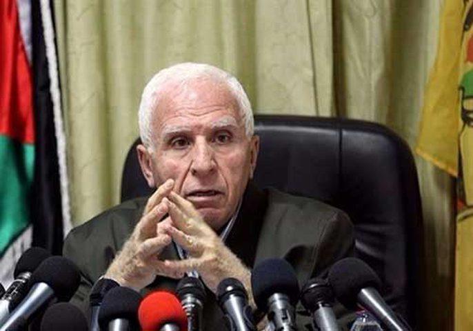 الأحمد: توصية بعقد المجلس الوطني الفلسطيني قبل حلول شهر رمضان