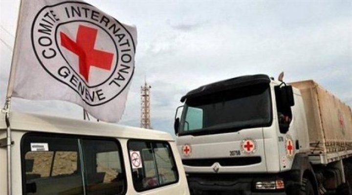 46 شاحنة محملة بمساعدات إنسانية تتحرك باتجاه الغوطة