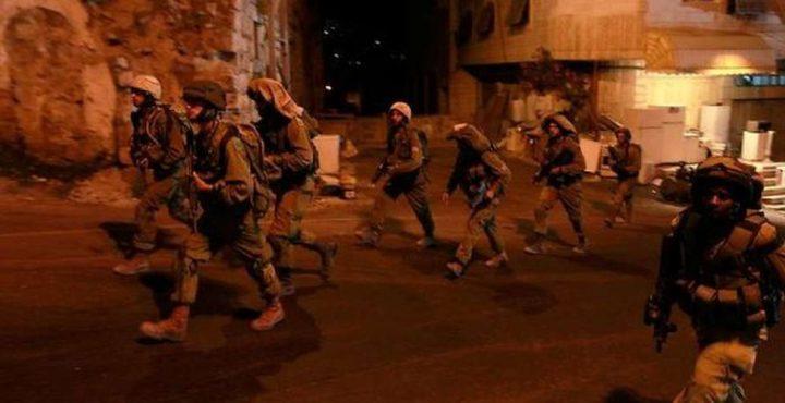 حملة اقتحامات واعتقالات في الضفة طالت 7 مواطنين