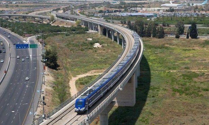 """قطار يربط """"إسرائيل"""" بالمستوطنات لفرض السيادة الاحتلالية على الضفة"""