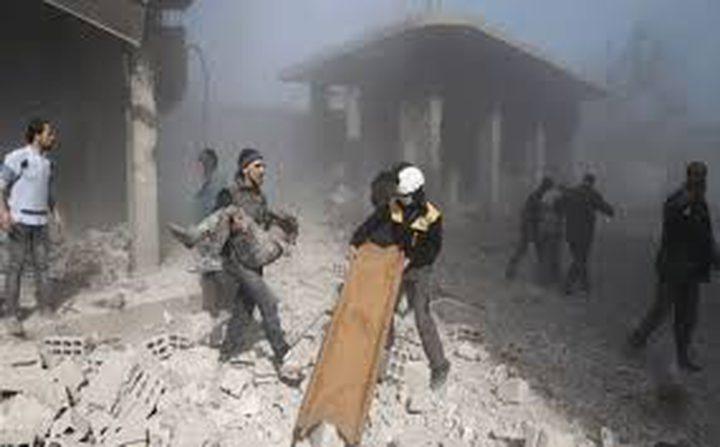 الغوطة تعاني والنزاع السوري يدخل عامه الثامن