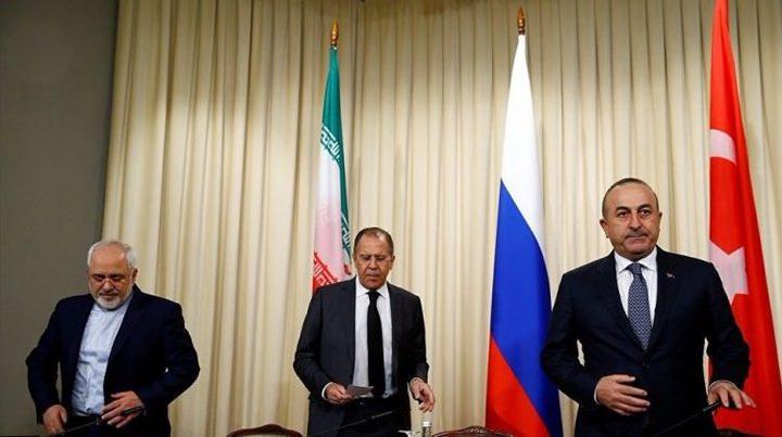 محادثات روسية تركية ايرانية حول سوريا