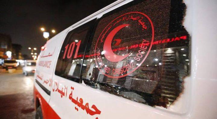 إصابة مواطن بجروح خطيرة جراء حادث سير