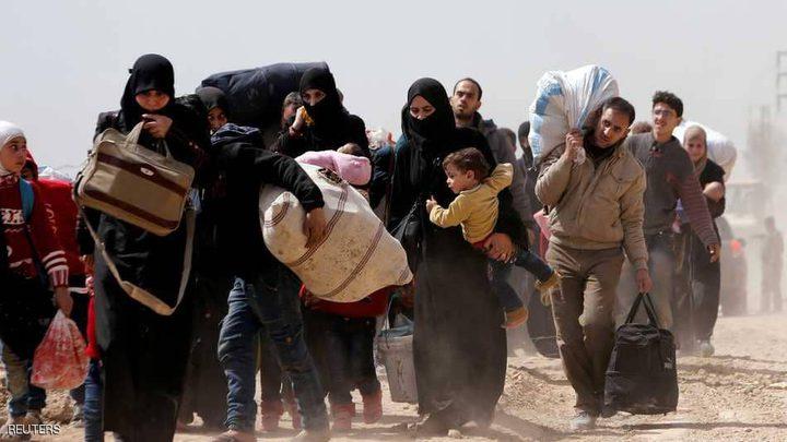 """غارات الغوطة تقتل عشرات """"تجمعوا للخروج"""""""