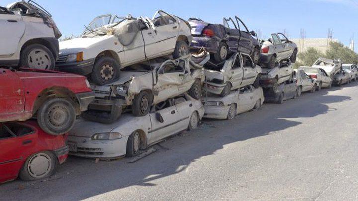 إتلاف 435 مركبة غير قانونية