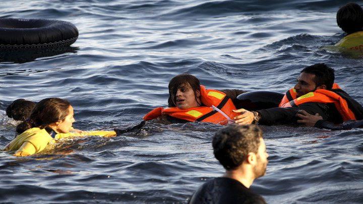 مصرع 16 شخصا في غرق مركب مهاجرين قبالة اليونان