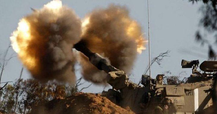 الإحتلال يُفجّر عبوة ناسفة على السياج الحدودي والمدفعية تقصف هدفًا شرق غزة