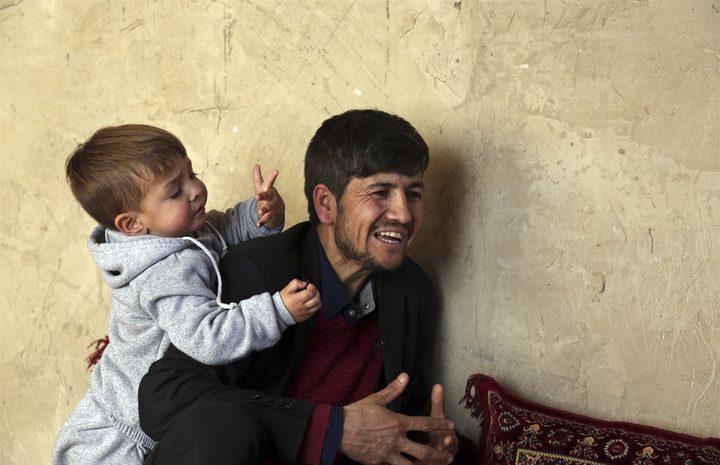 """عائلة أفغانية تسمي إسم طفلها """"دونالد ترامب"""""""