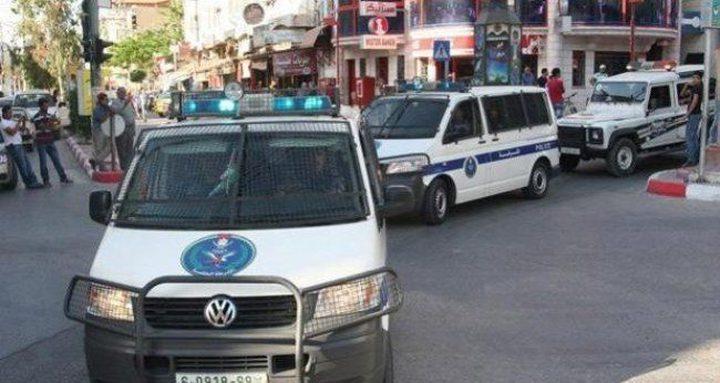 التقرير الأسبوعي لشرطة محافظة نابلس