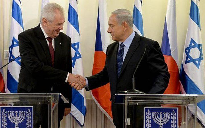 تحت ضغط حكومة الاحتلال ...التشيك تدرس مشروع نقل سفارتها إلى القدس