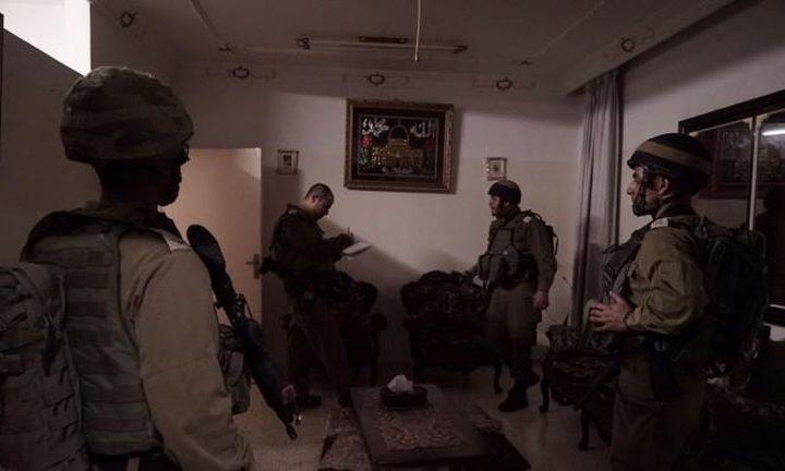 الاحتلال يأخذ قياسات منزل الشهيد بني فضل في نابلس