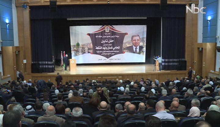 حفل تأبين عضو اللجنة التنفيذية لمنظمة التحرير الفلسطينية غسان الشكعة (فيديو)