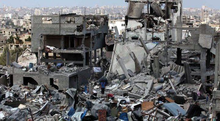 الشهر الماضي.. إعادة إعمار 59 مسكناً مدمرا كلياً في غزة