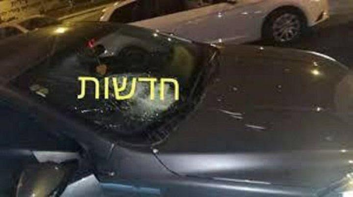 الإحتلال يزعُم تضرر عدد من مركبات المستوطنين عقب رشقها بالحجارة شرق القدس