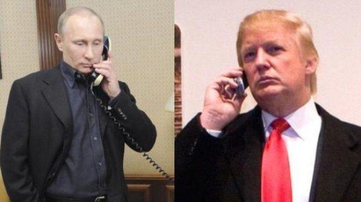 اتصال هاتفي بين ترامب وبوتين