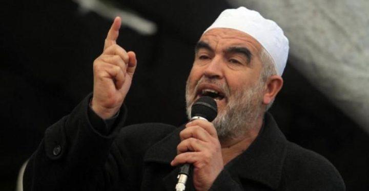"""محكمة الاحتلال تقرر الإفراج عن الشيخ """"رائد صلاح"""" وتحويله للحبس المنزلي"""