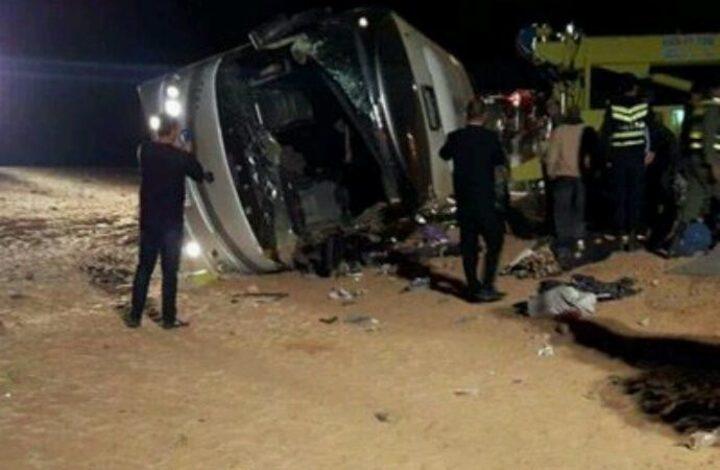 إصابة 7 معتمرين من جنين إثر حادث سير في الأردن