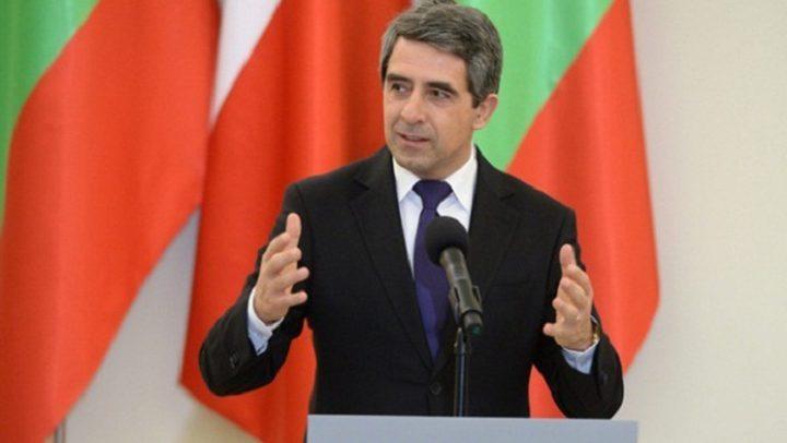 زيارة تاريخية للرئيس البلغاري إلى فلسطين غدا