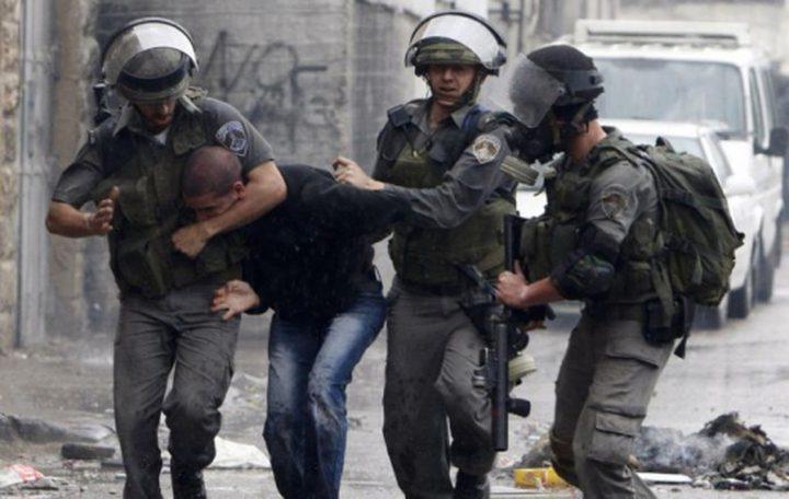اعتقال شاب من نابلس أثناء عمله