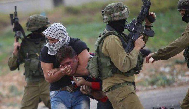 عناصر خاصة من قوات الاحتلال تعتقل مواطن جنوب نابلس