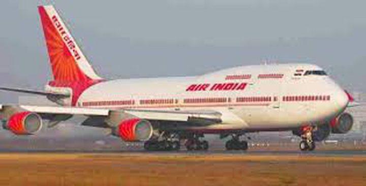"""لأول مرة .. طائرة هندية تصل """"تل أبيب"""" عبر الأجواء السعودية"""