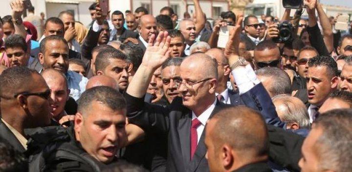 الحكومة: حماس ترسم وتنفذ سيناريوهات مشوهة حول محاولة اغتيال الحمدالله